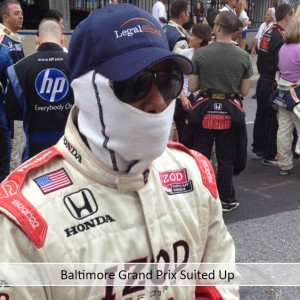 Baltimore Grand Prix Suited Up
