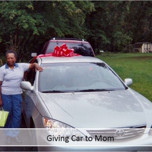 Giving Car to Mom