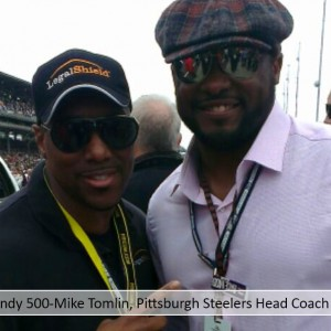 Indy 500-Mike Tomlin, Pittsburgh Steelers Head Coach