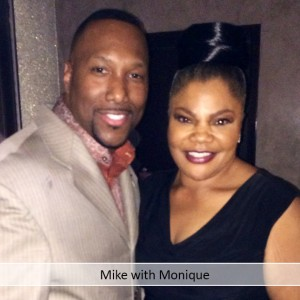 Mike with Monique
