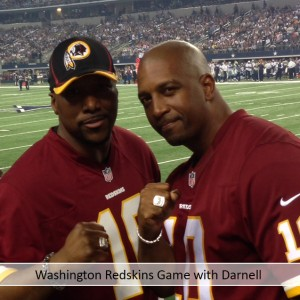 Washington Redskins Game with Darnell